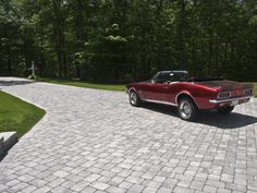 2019 updated photo gallery of commercial landscaping projects designed and implemented by Virginia Landscapes - serving the Virginia Peninsula region. Large Concrete Pavers, Concrete Driveways, Paver Walkway, Driveway Pavers, Driveway Ideas, Walkway Ideas, Yard Ideas, Interlocking Pavers, Good House