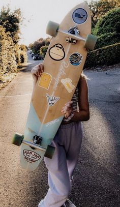 Penny Skateboard, Skateboard Girl, Longboard Design, Skateboard Design, Beach Aesthetic, Summer Aesthetic, Collage Mural, Skate Girl, Cool Skateboards