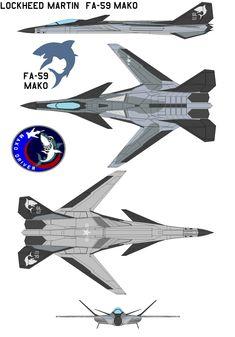 Lockheed Martin  FA-59 Mako by bagera3005.deviantart.com on @deviantART