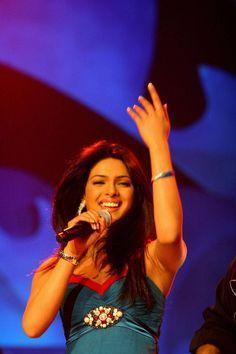 Priyanka Chopra singing on stage. #Bollywood #Fashion #Style #Beauty #Hot #Sexy