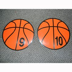 creative_basketball_spot_markers_numbered_1_10