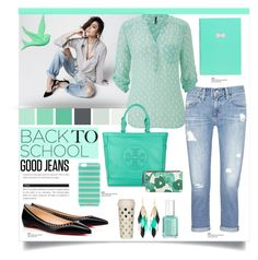 """Back to School: Denim Guide"" by carlavogel ❤ liked on Polyvore"