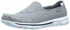 Skechers Women's Go Walk Interval Fashion Sneaker,Grey,8.5 M US