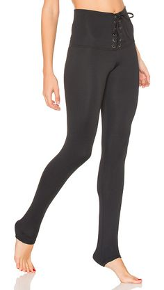 The McGuire Legging by STRUT-THIS. Spandex blend. Stretch fit. Lace-up waist detail. STRR-WM82. 095A. Started by two mother and daughter teams in 2011, ...