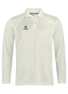 Juniors Cricket White Shirt, Top Quality Cricket White Shirt, Stretchable Cricket Shirt, Cricket Shirt Long Sleeves