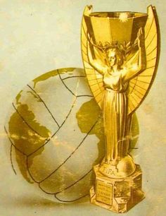 The Jules Rimet Trophy - won outright by Brazil in 1970