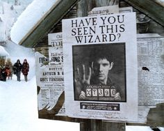 """I bet even if Arthur saw this sign he would laugh and be like """"Merlin, a WIZARD! hahaha"""""""