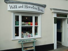 """""""Secondhand books are wild books, homeless books; they have come together in vast flocks of variegated feather, and have a charm which the domesticated volumes of the library lack"""" - Virginia Woolf 12 South Street Bridport, DT6 3NQ http://www.wildandhomelessbooks.co.uk/"""