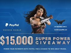 Win $15,000.00 awarded as a transfer into the winner's PayPal account. If the email address you provided is not associated with your PayPal account, you must associate it with your PayPal account within 7 days from time of prize notification....