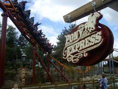 Knott's Berry Farm, Buena Park, CA, custom fabricated theme park signage - Pony Express
