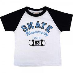 Camiseta Infantil Menino com Spike - Nini