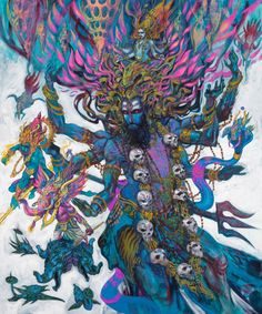 Shiva Through the Brush of Abhishek Singh