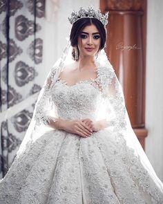Pin by WedAbout on Christian Bride Stunning Wedding Dresses, Princess Wedding Dresses, Best Wedding Dresses, Bridal Dresses, Wedding Gowns, Beautiful Bride, Ball Gowns, Weddings, Dream Wedding