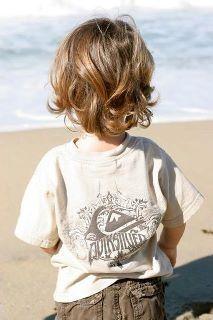 Little Boys with long hair