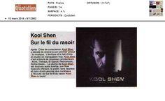 Kool Shen dans le Quotidien le 10 mars 2016 (Journal de la Réunion)