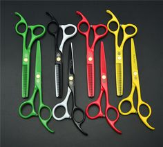 5.5 inch 16cm Professional Human Hair Scissors Hairdressing Cutting Shears Thinning Scissors Salon Hair Styling Tools Z1023