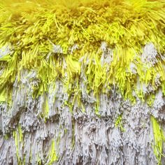 Furry lemon dreams // Handwoven Tapestry Wall hanging by jujujust, on Etsy
