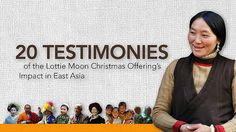20 Testimonies of the LMCO's impact in East Asia