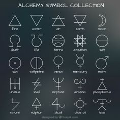 simya sembol Koleksiyonu