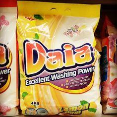 Daia Lemon Citrus Laundry Detergent 4kg