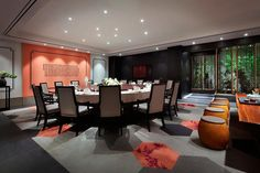 Kung Restaurant Kongyiji Restaurant Private Room Project Featuring Shaw Contract Commercial Flooring Shaw Contract