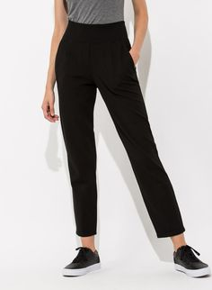 Women's Ponte Trouser | Mulberry Pant | Kit and Ace