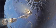 Death Star Attack Concept ~ Ralph McQuarrie