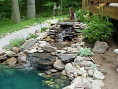 find this pin and more on dream yards interior foundtain water fall backyard pond