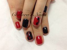 Harley Quinn by ChelseasNails from Nail Art Gallery