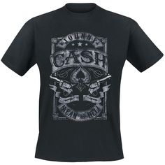 Mean (T-Shirt) by Cash, Johnny