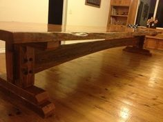 Building a Farm Table - YouTube
