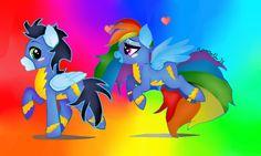 soarin x rainbow dash  MLP kto shippinguje ? ;P