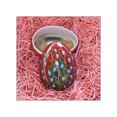 Russian Style England Metal Easter Egg Box Lily by 32NorthSupplies, 4.61 Etsy
