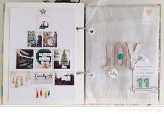 Layout of the Week I Jen Kinkade. studio calico I love the Christmas tree shape!