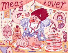 Meat Lover - Jessica HJ. Lee
