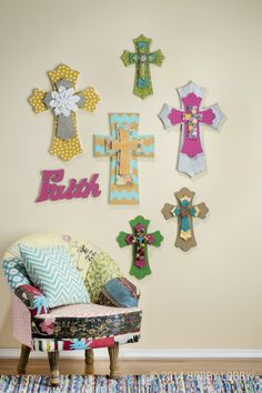 Our ready-to-embellish crosses are a beautiful way to share the joy of your spiritual life. Here are a few inspirational ideas to get you started!
