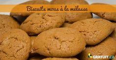 Cette recette traditionnelle vous fera voyager dans le temps ou l'odeur des biscuits vous accueillait en rentrant à la maison. Sweet Recipes, New Recipes, Cookie Recipes, Desserts With Biscuits, Cakes Plus, Biscuit Cookies, Brownie Cookies, Looks Yummy, Cookie Exchange