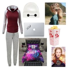 """Morning lovelies"" by creepypasta-is-mah-life ❤ liked on Polyvore featuring Icebreaker, Disney and Vinyl Revolution"