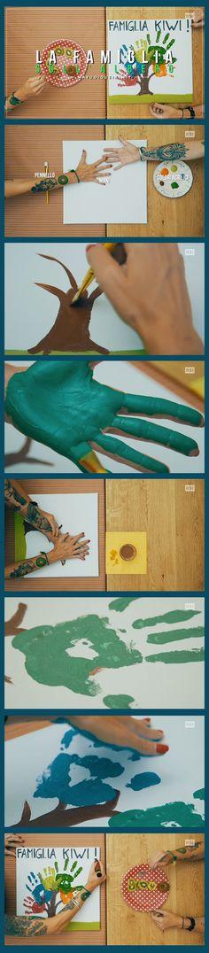 Le impronte di tutta la famiglia per creare una chioma d'impronte  www.rsi.ch/kiwi https://www.facebook.com/RSIvuoiqueikiwi/ https://www.youtube.com/channel/UCY-Ge3XwDLKSweZ6gJzwQaA