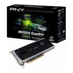 Placa Video Profesionala nVidia Quadro 4000 cu tehnologie 3D Vision Pro. Solutie high-end de procesare video pentru designeri si ingineri!