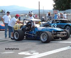 The former gerald lundgren 1964 Oly Special, restored about 4 years ago after the car was found in a dumpster in Caldwell. Current owner Mel Eyeirs restored it, Mel is from the tri-cities area. photo from brian pratt. Race 3, Old Race Cars, Sprint Cars, Tri Cities, Vintage Race Car, Dirt Track, 4 Years, Idaho, Cool Cars