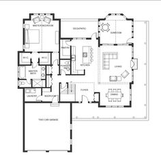 Master bathroom floor plans with walk in closet google for Mudroom laundry room floor plans