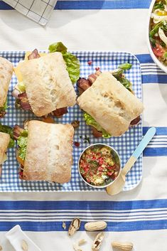 Pimiento Salad Club Sandwichescountryliving