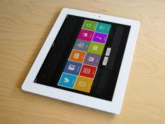 iPad App UI Retina - Sarah by Ismail MESBAH, via Behance