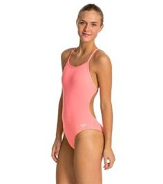 1e6a09f927 Speedo The One Solid One Piece Swimsuit at SwimOutlet.com - Free Shipping