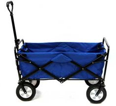 Mac Sports Colla-PSIble Folding Steel Frame Outdoor Garden Utility Wagon, Blue at Lowe's. No more loading up your groceries like you're the Hulk when you have the Mac Sports Collapsible Garden Utility Wagon to give you an extra hand. Camping Gear, Outdoor Camping, Beach Camping, Outdoor Travel, Camping Canopy, Hiking Gear, Campsite, Yard Cart, Best Wagons