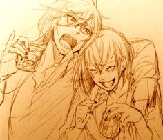Grell & Madame Red