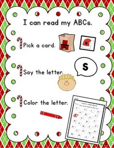 Word work for kids still learning their letters.