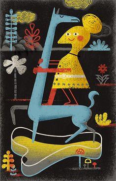 Ian Murray Illustration Portfolio – Retro Aficionado Illustrator