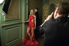 Behind the Scenes of Mark Seliger's 2016 Instagram Portrait Studio at the Vanity Fair Oscar Party